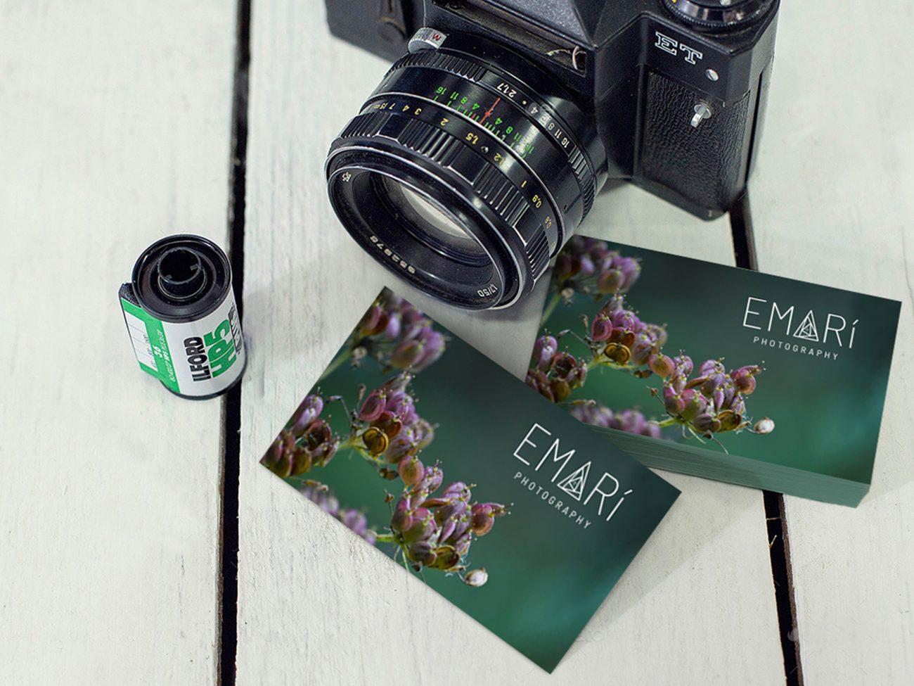 Emari Logo Mock Up